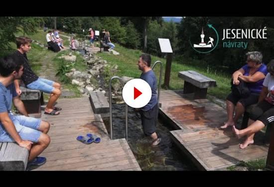 Jesenické návraty - Priessnitzovy léčebné lázně Jeseník - stezka Vincenze Priessnitze
