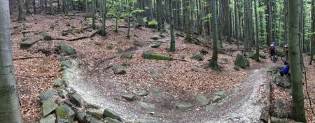 Rychlebské stezky - Prokletý, Mramorový, Sjezdy