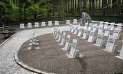 Lesní hřbitov v Rudohoří