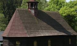 Dřevěný kostel sv. Jana Nepomuckého v Klepáčově