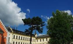 Klášter Voršilek - nyní areál ZŠ Průchodní