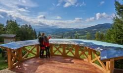 Priessnitzova vyhlídka na Křížovém vrchu