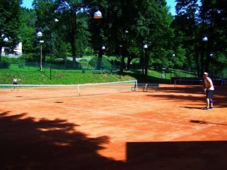 Tenisové kurty Priessnitz