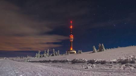 Lyžařské běžecké trasy Praděd a Kurzovní