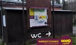 Nabíjecí stanice pro elektrokola - Autokemp Podhradí