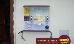 Nabíjecí stanice pro elektrokola - Ski Express Karlov