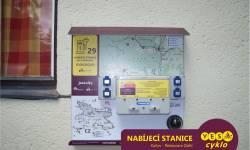 Nabíjecí stanice pro elektrokola - Restaurace Zátiší Karlov