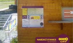 Nabíjecí stanice pro elektrokola - Ski areál Kopřivná