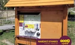 Nabíjecí stanice pro elektrokola - Široká Niva
