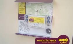 Nabíjecí stanice pro elektrokola - ŽST Třemešná ve Slezsku