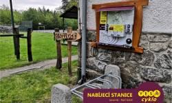 Nabíjecí stanice pro elektrokola - Račí Údolí