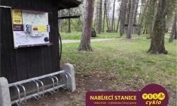 Nabíjecí stanice pro elektrokola - Cyklokemp Černý Potok