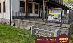 Nabíjecí stanice pro elektrokola - Hotel Franz Rejvíz