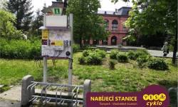 Nabíjecí stanice pro elektrokola - Hlavní třída Šumperk