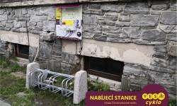Nabíjecí stanice pro elektrokola - Chata Červenohorské sedlo