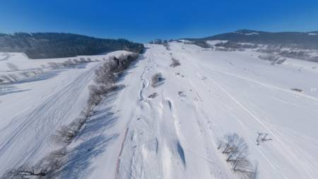 Ski areál Větrný vrch - Dolní Morava