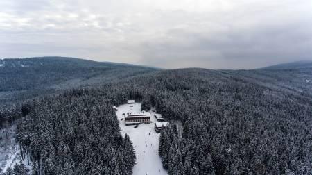 Lyžařský areál Severomoravská chata