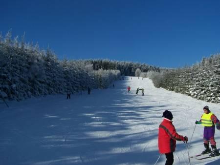 Ski areál pod Klínem