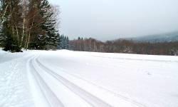 Lyžařské běžecké trasy Suchá Rudná