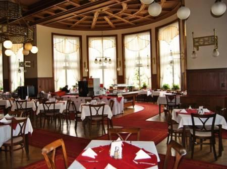 Restaurace 1837 v sanatoriu Priessnitz