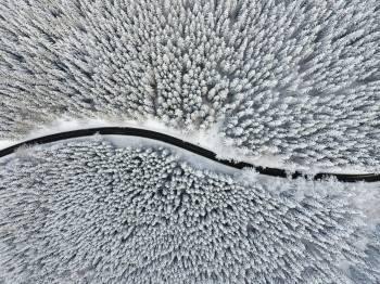 Zima v Jeseníkách